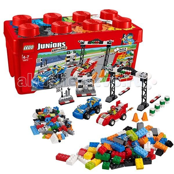 Конструктор Lego Juniors 10673 Лего Джуниорс Ралли на гоночных автомобилях