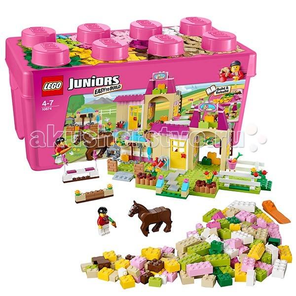 Конструктор Lego Juniors 10674 Лего Джуниорс Пони на ферме