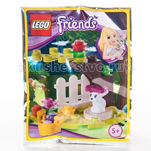 Конструктор Lego Friends 561503 Лего Подружки Забавный КроликFriends 561503 Лего Подружки Забавный КроликКонструктор Lego Friends 561503 Лего Подружки Забавный Кролик  Этот набор из серии Friends от LEGO продолжает серию мининаборов, посвящённых праздникам. Теперь к конструкторам в тематике Нового года и Хэллоуина наборам добавляется Пасха. Конструктор состоит из 18 деталей, включая минифигурку очаровательного кролика.  Одним из символов этого праздника является кролик, оставляющий разноцветные яйца. В набор входит минифигурка белого кролика с розовым бантиком, корзинка с разноцветными пасхальными яйцами, элемент изгороди и детали для сборки небольшого деревца.  Количество деталей: 18 шт.<br>