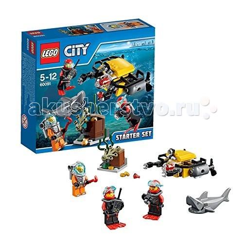 Конструктор Lego City 60091 Лего Город Исследование морских глубин