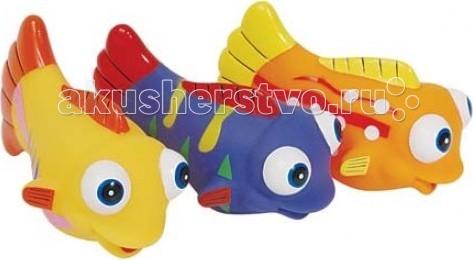 ПОМА Набор для ванны Рыбки Красного моряНабор для ванны Рыбки Красного моряНабор для ванны Рыбки Красного моря  Занимательные игрушки для игры в воде. Развивают координацию движений. Мягкие на ощупь. Брызгают водой и не тонут.  Рекомендуемый возраст: от 12 месяцев Материал: ПВХ  ПОМА® непрерывно совершенствует свою продукцию, делая ее еще более удобной, функциональной и привлекательной, расширяет ассортимент выпускаемой продукции. Постоянное общение с родителями, педиатрами и детскими психологами помогает создавать оптимальный для российского потребителя ассортимент. ПОМА® — это удобно, доступно, безопасно, красиво и понятно.<br>