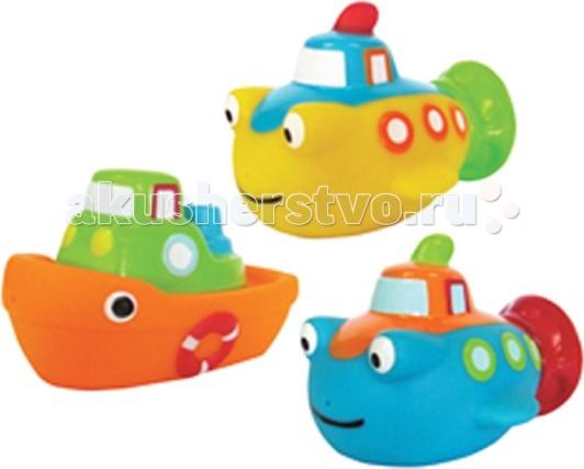 ПОМА Набор для ванны Морской бойНабор для ванны Морской бойНабор для ванны Морской бой  Занимательные игрушки для игры в воде. Развивают координацию движений. Знакомят малыша с окружающим миром.  Мягкие на ощупь. Брызгают водой и не тонут.  Рекомендуемый возраст: от 12 месяцев Материал: ПВХ  ПОМА® непрерывно совершенствует свою продукцию, делая ее еще более удобной, функциональной и привлекательной, расширяет ассортимент выпускаемой продукции. Постоянное общение с родителями, педиатрами и детскими психологами помогает создавать оптимальный для российского потребителя ассортимент. ПОМА® — это удобно, доступно, безопасно, красиво и понятно.<br>