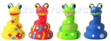ПОМА Игрушка для ванны ЗмейкаИгрушка для ванны ЗмейкаИгрушка для ванны Змейка  Занимательные игрушки для игры в воде. Развивают координацию движений. Знакомят малыша с окружающим миром.  Мягкие на ощупь. Брызгают водой и не тонут.  Рекомендуемый возраст: от 12 месяцев Материал: ПВХ  ПОМА® непрерывно совершенствует свою продукцию, делая ее еще более удобной, функциональной и привлекательной, расширяет ассортимент выпускаемой продукции. Постоянное общение с родителями, педиатрами и детскими психологами помогает создавать оптимальный для российского потребителя ассортимент. ПОМА® — это удобно, доступно, безопасно, красиво и понятно.<br>