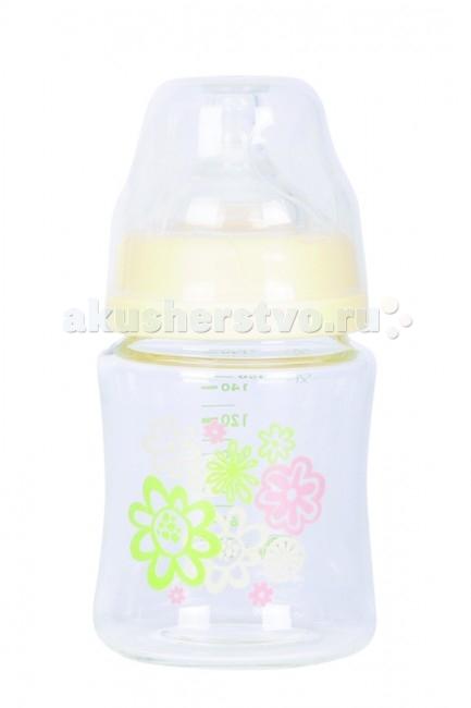 Бутылочка ПОМА стекло силик. соска с широким горлом 150 мл