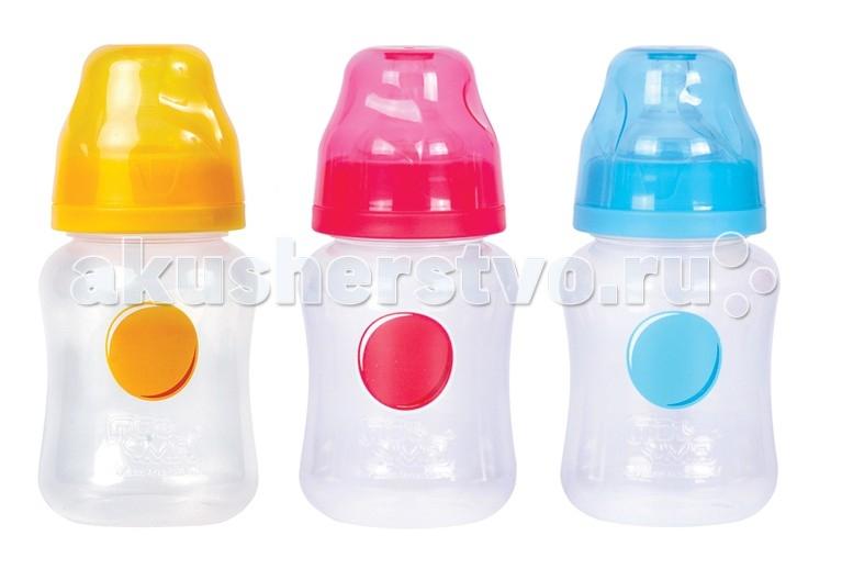 Бутылочка ПОМА полипропилен силик. соска с широким горлом 0+ 220 мл