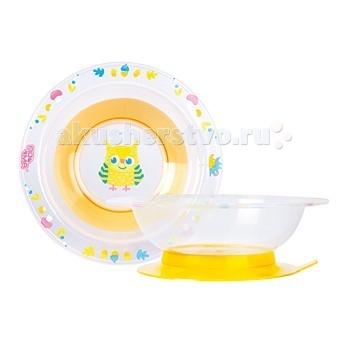 ПОМА Детская тарелочка на присоске