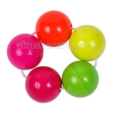 Погремушка ПОМА Цветные шарики