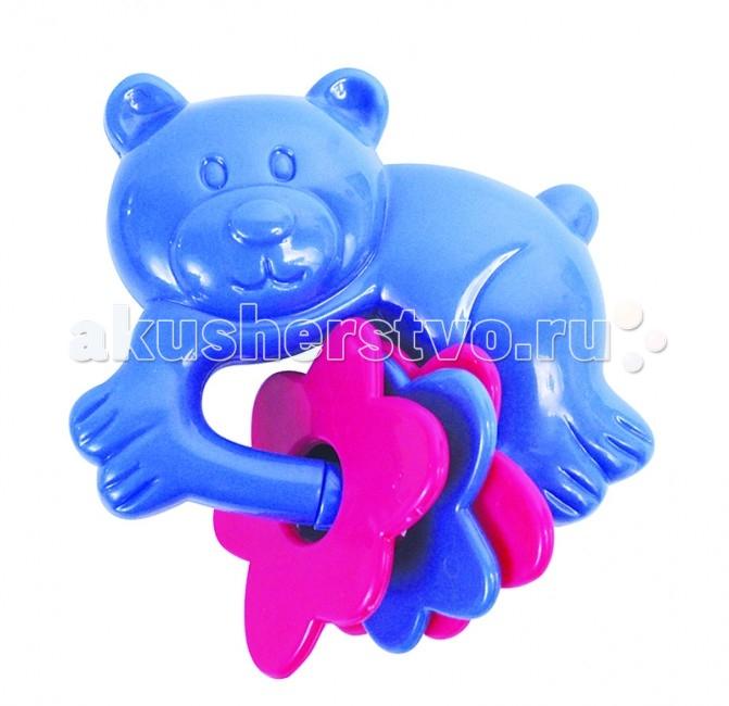Погремушка ПОМА Мишка-топтыжкаМишка-топтыжкаПогремушка Мишка-топтыжка  Отсутствует нанесение краски на всей поверхности, что делает игру для малышей безопасной. В самом маленьком возрасте малыши познают мир в том числе через свой рот.  Развивает слух, моторику концентрацию внимания. Удобна для ручек малыша.   Рекомендуемый возраст: от 4 месяцев Материал: АБС-пластик без нанесения краски  ПОМА® непрерывно совершенствует свою продукцию, делая ее еще более удобной, функциональной и привлекательной, расширяет ассортимент выпускаемой продукции. Постоянное общение с родителями, педиатрами и детскими психологами помогает  создавать оптимальный для российского потребителя ассортимент. ПОМА® — это удобно, доступно, безопасно, красиво и понятно.<br>