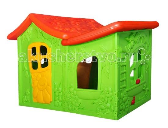 Игровой домик BabyOne Ching-Ching ВиллаChing-Ching ВиллаИгровой домик BabyOne Вилла - это сказочный дом для вашего малыша. В нем он сможет развиваться, уединяться с игрушками или друзьями, разыгрывать спектакли. Домик, о котором мечтают все дети, он оригинальный и достаточно просторный для того, чтобы пригласить в гости друзей.  Малыш безусловно оценит возможность иметь свое собственное очаровательное жилище. Произведен с соблюдением европейского стандарта качества. Стимулирует малыша к активным действиям и движению, развивает воображение. Украсит любую дачу или детскую комнату и станет любимым местом для игр Вашего ребенка.  Основные характеристики: предназначен для детей от 3 до 10 лет соответствует европейским стандартам безопасности оригинальный яркий дизайн очень уютный идеально подходит для игры на даче, на улице, дома конструкция очень устойчивая, прочная, не имеет острых углов легко собирается и разбирается легко содержать в чистоте, так как может подвергаться влажной обработке  Материал - высокопрочный морозостойкий пластик, экологически безопасный и устойчивый к ультрафиолетовому излучению.  Общие размеры: (дхшхв) 190х120х130 см.<br>