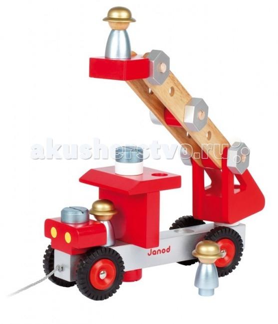 Конструктор Janod Пожарная машина