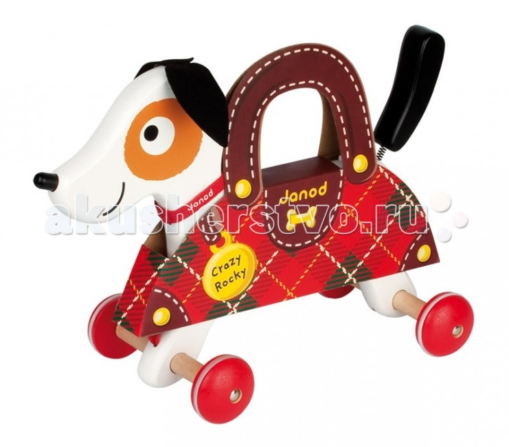 Каталка-игрушка Janod Песик J08081