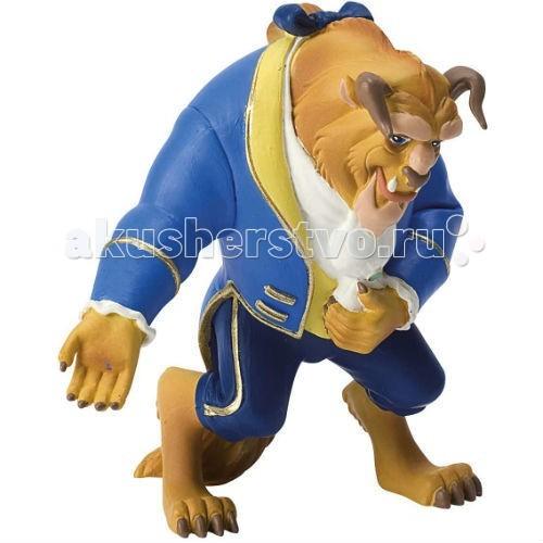 Bullyland Чудовище 10 смЧудовище 10 смBullyland Чудовище 10 см. - фигурка Чудовища из мультфильма Уолта Диснея Красавица и чудовище. Теперь можно разыгрывать сценки из любимого с детства мультфильма студии Дисней, придумывая новые приключения для его героев. Одетый в голубой костюм с белым воротничком, заколдованный принц вызывает желание помочь ему, немедленно превратить в человека.   Игрушка может быть использована детьми в качестве героя в придуманных играх.   Фигурка выполнена из высококачественных нетоксичных материалов, безопасна для детей.   Размер: 10 см.<br>