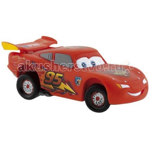 Bullyland Машинка Маккуин 6,9 смМашинка Маккуин 6,9 смBullyland Маккуин 6,9 см. - фигурка тачки Маккуина из мультфильма студии Уолта Диснея и компании Пиксар Тачки 2. Это очень красивый персонаж. Гоночный автомобиль Молния Маккуин - это болид серии NASCAR Dodge Viper. Он окрашен в красный цвет с оранжевой молнией на боку. Его ярко-голубые глаза отражают задор и волю к победе.   Наш герой Молния Маккуин уже имеет четыре престижных награды Кубка Большого Поршня. Мечта всемирно известного гонщика - выиграть самую престижную гонку мира Мировое Гран-При. Фигурка автомобильчика веселая и задорная, отражает характер своего героя.   Игрушка выполнена из высококачественных, нетоксичных материалов и безопасна для детей.   Размер: 6,9 см.<br>