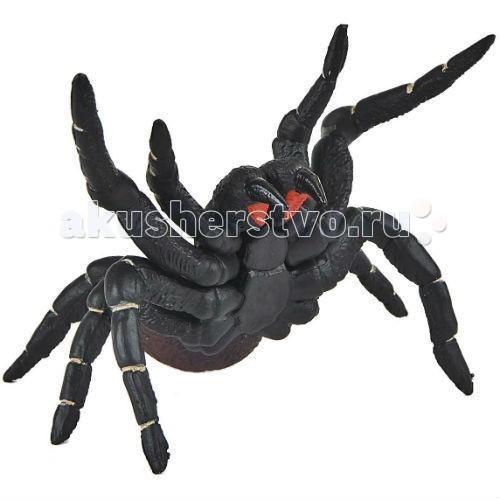 Bullyland Фигурка Водяной паук 12 смФигурка Водяной паук 12 смBullyland Фигурка Водяной паук 12 см. - очень распространенный вид водяного паучка (серебрянки). Встречается на озерах, прудах и реках в тихой заводи. Этот паучок создает гнездо под водой и надувает его воздухом. Фигурка водяного паука интересна для изучения.   Рассматривая животное, ребенок познает обитателей мира, создает представление о жизни, существующей вокруг нас.   Игрушка сделана из высококачественных, нетоксичных материалов и абсолютно безопасна для детей.   Размер: 115 х 100 х 80 мм.<br>