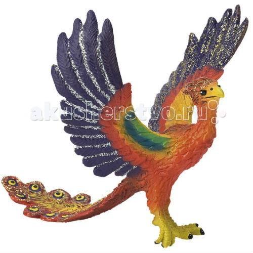 Bullyland Фигурка Феникс 11,5 смФигурка Феникс 11,5 смBullyland Фигурка Феникс 11,5 см. - уникальная мифологическая птица, сжигающая себя и восстающая из пепла. Птица символизирует победу нал смертью, триумф вечной жизни. Персонаж является фантазийным героем многих сказок и легенд.   Фигурка Феникса выполнена из высококачественных, нетоксичных материалов и абсолютно безопасна для детей.   Размер: 114 х 108 х 92 мм.<br>
