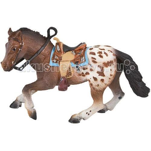 Bullyland Фигурка жеребец аппалузский 16,5 смФигурка жеребец аппалузский 16,5 смBullyland Фигурка жеребец аппалузский 16,5 см. - приобретая для ребенка фигурку гнедого Аппалузского жеребца, вы делаете замечательный подарок! Красивая стройная лошадка может стать замечательным другом малыша и неизменным персонажем его сюжетных игр. Отличный скакун Аппалузский жеребец обладает выносливостью и силой, добрым и послушным характером. Игрушки-фигурки стимулируют фантазию детей, способствуют созданию собственных сценариев и сюжетов для игры.   Фигурка выполнена с учетом анатомических особенностей и в соответствии с внешним видом животного.  Игрушка из высококачественных, нетоксичных материалов и абсолютно безопасна для детей.   Размер: 165 х 55 х 104 мм.<br>