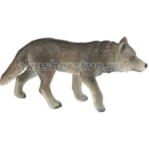 Bullyland Фигурка Волк 11,5 смФигурка Волк 11,5 смBullyland Фигурка Волк 11,5 см. - дикий зверь и опасный хищник, волк всегда был грозой окрестных фермеров. Периодические нападения на скот и даже на людей делают волка серьезным противником. Фигурка волка выполнена в точном соответствии с реальным животным, с учетом анатомических особенностей и внешнего вида.   Игрушка сделана из высококачественных, нетоксичных материалов и абсолютно безопасна для детей.   Размер: 118 х 32 х 57 мм.<br>