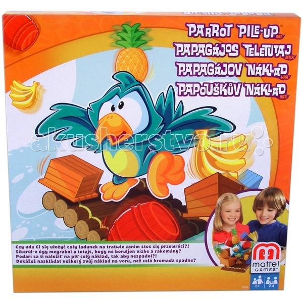 Mattel Настольная игра Попугай на плоту