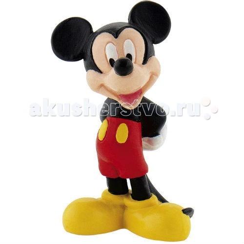 Bullyland Микки классический 7 смМикки классический 7 смBullyland Микки классический 7 см. - фигурка мышки Микки Мауса из мультфильма студии Уолта Диснея Клуб Микки Мауса. Известный мультипликационный персонаж Микки Маус стал символом компании Уолта Диснея и американской поп-культуры. Микки дружит с Дональдом Даком и собачкой Плуто. Его подружка, не менее известная Минни Маус, подходит ему по характеру: оба мышонка очень обаятельны.   Обворожительный улыбчивый мышонок очень нравится деткам. Фигурка Микки Мауса в классическом образе - в смешных красных штанишках и огромных ботинках - делает его абсолютно узнаваемым для поклонников.   Игрушка выполнена из высококачественных, нетоксичных материалов и безопасна для детей.   Размер: 7 см.<br>