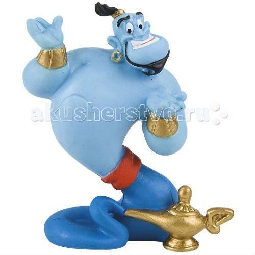 Bullyland Джинн 7,5 смДжинн 7,5 смBullyland Джинн 7,5 см. - фигурка Джинна из мультфильма Уолта Диснея Аладдин и волшебная лампа. Волшебное существо, владеющее колдовскими возможностями. Джинн способен легко изменить свой облик и размер, но при этом остается рабом лампы.   Фигурка Джинна отражает характер своего героя: доброго, немного наивного, очень забавного. Игрушка развивает фантазию и мышление ребенка. Фигурка выполнена из высококачественных нетоксичных материалов, безопасна для детей.   Размер: 7,5 см.<br>