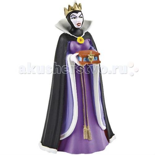 Bullyland Королева-мачеха 9 смКоролева-мачеха 9 смBullyland Королева-мачеха 9 см - фигурка королевы-мачехи Гримхильды из мультфильма Уолта Диснея Белоснежка и семь гномов. Злая и холодная, самовлюбленная колдунья. Фигурка королевы поражает своей статью и изяществом. Черный плащ не может скрыть великолепного королевского наряда. Фигурка дополнит коллекцию персонажей из любимой сказки.   Игрушка сделана из высококачественных нетоксичных материалов, безопасна для детей.   Размер: 9 см<br>