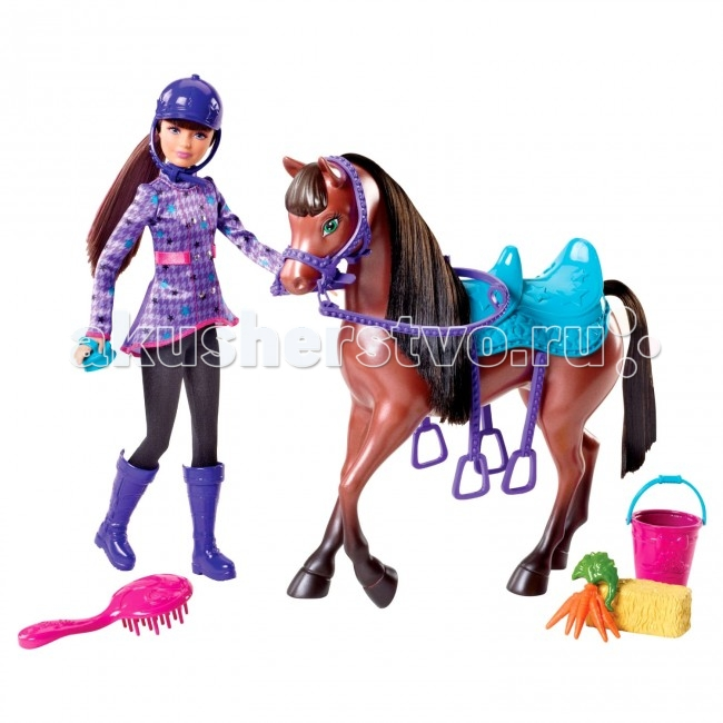 Barbie Игровой набор Барби и сестры в сказке о пони от Акушерство