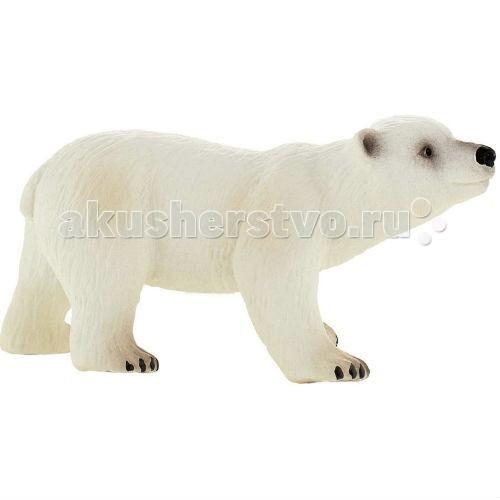 Bullyland Фигурка Медвежонок полярный 8 смФигурка Медвежонок полярный 8 смBullyland Фигурка Медвежонок полярный 8 см - Медвежата рождаются абсолютно беспомощными, весом всего 450-750 грамм и лишь в три месяца впервые покидают берлогу. Они остаются с матерью до 1,5 лет, и все это время медведица кормит их молоком. Смертность среди медвежат составляет от 10-30%. Большая смертность среди медвежат, делает популяцию белых медведей очень уязвимой.  Умка – белый медвежонок, популярный герой известного мультфильма. Животное занесено в Красную Книгу России. Фигурка Полярного медвежонка хорошо передает внешность и характер реального животного. Игрушка сделана из высококачественных, нетоксичных материалов и абсолютно безопасна для детей.   Размер: 85 х 40 х 43 мм<br>