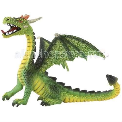 Bullyland Фигурка Дракон зеленый 11 смФигурка Дракон зеленый 11 смBullyland Фигурка Дракон зеленый 11 см - фигурка Дракон зеленый из серии «Фэнтази». Очень интересная фигурка сидящего зеленого дракона, отлично передает характер и внешность сказочного героя. Игрушка будет прекрасным подарком, как взрослому, так и ребенку.   Коллекционная модель, фигурка выполнена из высококачественных, нетоксичных материалов и абсолютно безопасна для детей.   Размер: 117 х 100 х 87 мм<br>