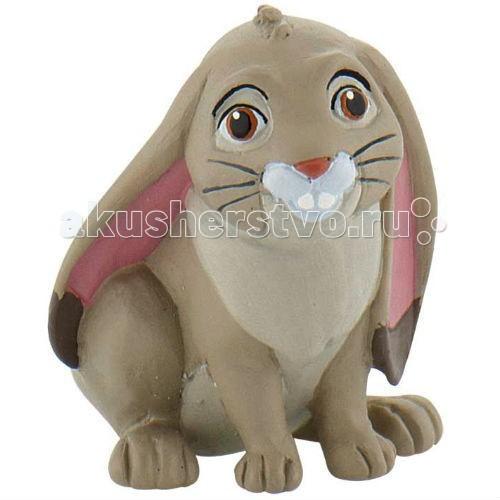 Bullyland Фигурка Принцесса София Прекрасная Кролик Клевер 4,5 см
