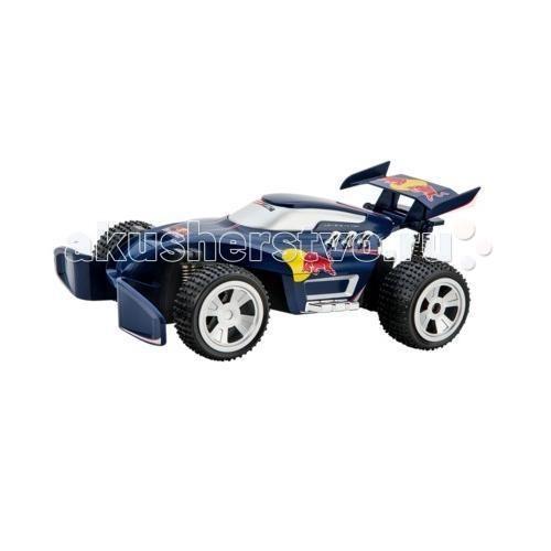 Carrera Радиоуправляемый автомобиль Red BullРадиоуправляемый автомобиль Red BullCarrera Радиоуправляемый автомобиль Red Bull - от мирового лидера по производству гоночных треков Carrera станет отличным подарком для любого ребенка.   В комплекте:  аккумуляторная батарея зарядное устройство батарейки.  Основные характеристики: масштаб 1:20 длина машинки 28 см частота 27МГц или 40МГц скорость до 12км/ч  непрерывное время работы - 20 минут время зарядки - 90 минут 3,7V-600mAh Li-Ion-аккумулятор и зарядное устройство 4,2V-300mA возможность управлять двумя автомобилями одновременно.  Рекомендуемый возраст 6+<br>