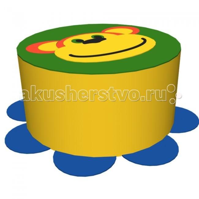 Romana Пуфик МакакаПуфик МакакаПуфик Макака станет не только прекрасным украшением детской комнаты, но и элементом для игр Вашего малыша.   Пуфик абсолютно безопасный, устойчивый.   Имеет мягкую поверхность.  Габариты: 0.40 х 0.40 х 0.30 м Материал: поролон, винилискожа<br>