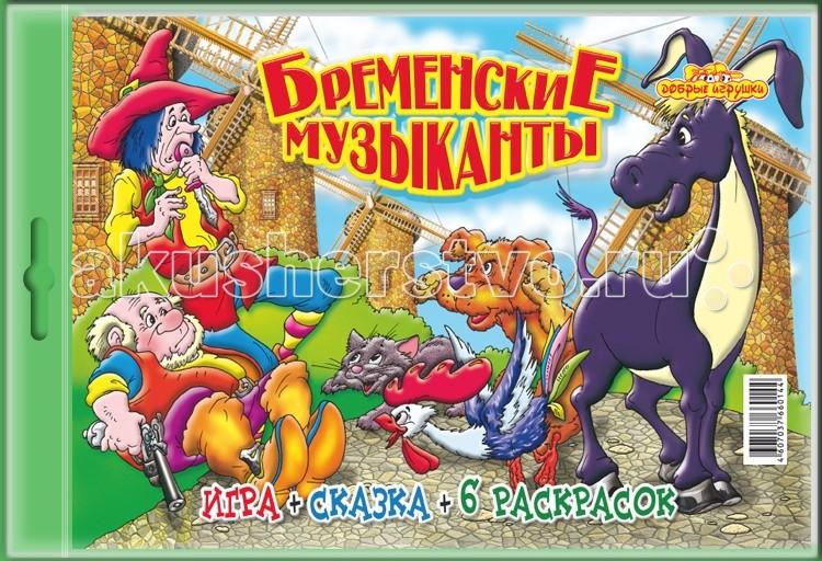 Игр и Ко Настольная игра Бременские музыканты