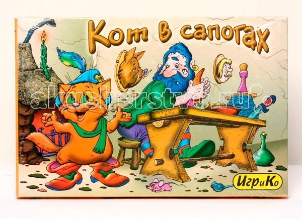 Игр и Ко Настольная игра Кот в сапогах