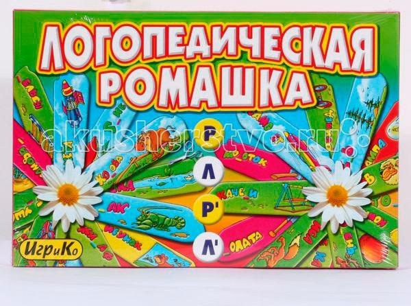Игр и Ко Настольная игра Логопеическая Ромашка Л-Р