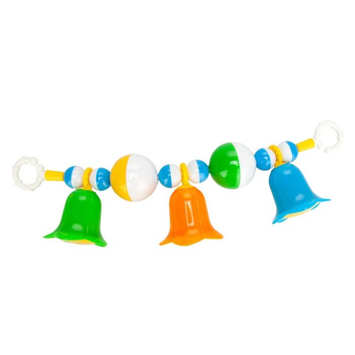 Погремушка Стеллар Погремушка-подвеска с шариками и колокольчиками