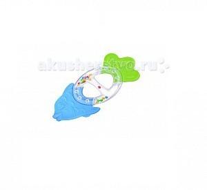 Прорезыватель Стеллар с погремушкой Рыбкас погремушкой РыбкаПрорезыватель Стеллар Рыбка — необычная погремушка-прорезыватель, призванная снизить дискомфорт от появления первых зубов.      Ее форма выверена с точностью до миллиметра – игрушка идеально ложиться в руки малышей.   Разноцветные гремящие шарики приковывают детское внимание, мотивируя ребенка проводить с погремушкой как можно больше времени.   В процессе игры малыш может без опасения грызть игрушку – материалы ее изготовления нетоксичны и абсолютно безопасны для детского здоровья.   Погремушка также не имеет острых краев, колющих и режущих поверхностей.   Подойдет как для комбинирования с другими погремушками, так и в качестве самостоятельного «прорезывателя».   Легко моется теплой водой, не имеет на своей поверхности токсичных лакокрасочных материалов и отличается высокой прочностью – сломать эту погремушку крайне сложно.  Способствует развитию познавательной активности, мелкой моторики, внимания, восприятия.<br>