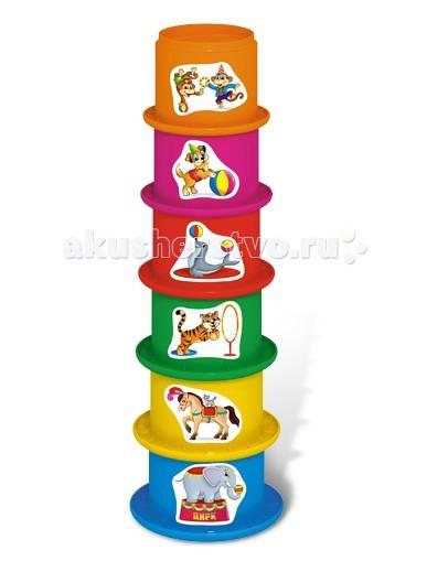 Развивающая игрушка Стеллар Пирамидка ЦиркПирамидка ЦиркПирамидка Стеллар Цирк  Занимательная пирамидка поможет Вашему ребенку запоминать цвета, сопоставлять размеры предметов, получить первые навыки счета. А еще она станет ему интересной игрушкой в песочнице и увлекательным предметом в игре с водой, например, при купании в ванне.<br>