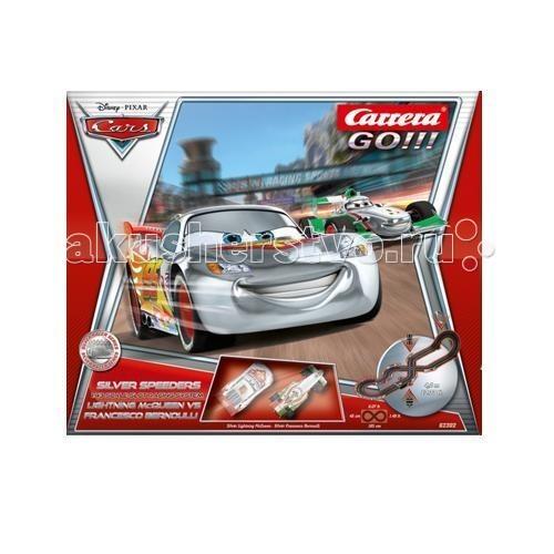 Carrera CarreraАвтотрек Disney/Pixar Cars - Silver Racers GO