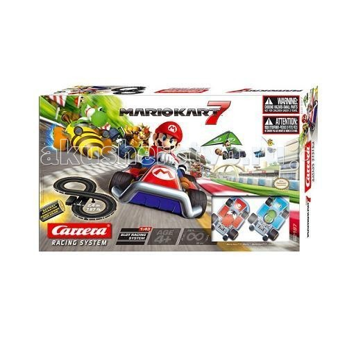 Carrera Автотрек Mario Kart 7 с батарейками