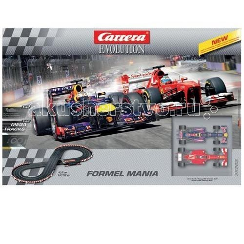 Carrera Автотрек Formel Mania Evolution