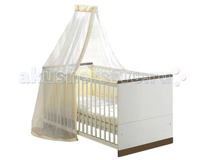 Детская кроватка Geuther FelyFelyДетская кровать Geuther Fely - это воплощение современного и простого дизайна.  Кроватка для новорожденных и детей Fely станет надежным спутником Вашего малыша с момента рождения.   С ней Ваш малыш проведет много прекрасных часов: ночью он будет мирно дремать в радующей глаз кроватке для новорожденных, а когда подрастет – на прочной кровати для детей дошкольного возраста.   Отличительные особенности:  подходит для новорожденных детей устойчивая конструкция оптимальные размеры отсутствие острых углов легко трансформируется: решетчатые бортики можно быстро снять, когда ребенок повзрослеет, и тогда колыбель превратиться в подростковую кровать балдахин и белье в комплект не входят  Материалы:  массив бука, ДСП, МДФ. краски и покрытия, не содержащие вредных веществ и отвечающие самым строгим санитарным нормам.  Размеры: 70 x 140 см.<br>