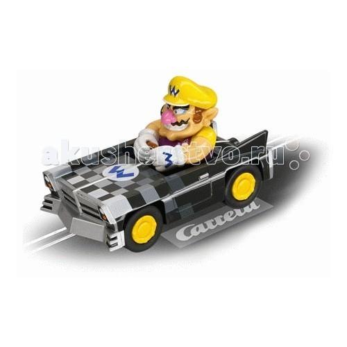 Carrera Автомобиль Mario Kart DS Wario Brute GOАвтомобиль Mario Kart DS Wario Brute GOCarrera Автомобиль Mario Kart DS Wario Brute GO - дополнительный автомобиль Mario Kart DS Wario Brute от германской компании Carrera – это гоночный автомобиль, за рулем которого сидит несравненный Марио. Марио просто обожает гонки!   Пусть Ваш ребенок поможет Марио прийти первым на финишную черту и почувствовать вкус победы.Яркая внешность автомобиля, устойчивые колеса, высокое качество изготовления и веселый водитель за рулем – все это понравится юным любителям автогонок и привлечет их внимание!  Машина предназначена для эксплуатации на автотреках Carrera серии GO!!! с масштабом машин 1:43.<br>
