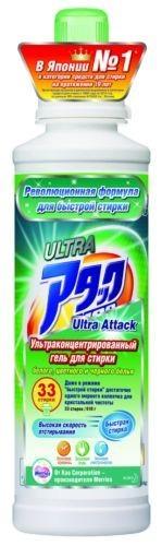 Attack Гель для стирки концентрированны Ultra 500 г