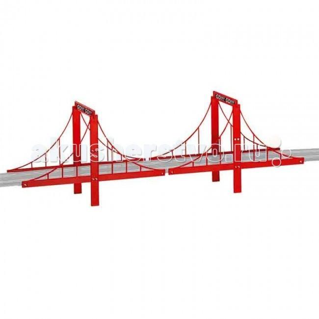 Carrera Дополнение к треку МостДополнение к треку МостCarrera Дополнение к треку Мост - дополнительные части Мост к трекам GO!!!/DIG143 от компании Carrera, которые помогут сделать Ваши гонки еще увлекательнее.  В комплекте 4 части, из которых собирается один мост.<br>