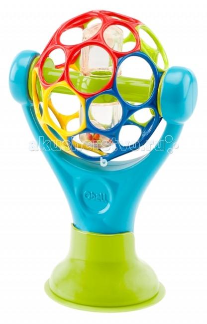 Развивающая игрушка RhinoToys Мячик Oball на присоскеМячик Oball на присоскеРазвивающая игрушка RhinoToys Мячик Oball на присоске развлечет вашего малыша в любом месте.  Особенности: Ребенок сможет его крутить и наклонять к себе Удобная подставка на присоске удерживает игрушку на месте Не содержит вредных веществ<br>