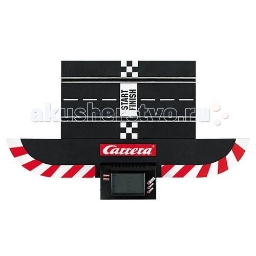 Carrera Электронный счетчик Digital 124/132Электронный счетчик Digital 124/132Carrera Электронный счетчик Digital 124/132 - электронный счетчик от компании Carrera сделает Ваши соревнования еще более совершенными.  Подходит для автотреков серии Digital 132/124. Поддерживается до 6 машин Carrera Digital 124/132. Измерение с помощью инфракрасного луча в слоте. Информация поступает на дисплей с точностью 1/1000 сек.<br>