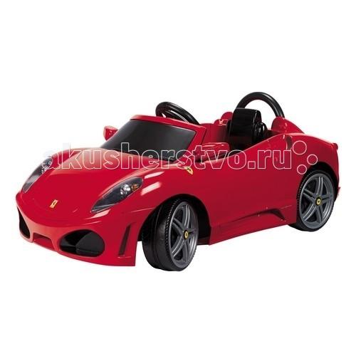 Электромобиль Feber Феррари 6 VФеррари 6 VЭлектромобиль Feber Феррари 6 V  - специально создан для маленьких автогонщиков, мечтающих о собственном автомобиле.   На детском автомобиле Ваш ребенок сможет ездить на твердой ровной поверхности. Детский Феррари снабжен электроприводом и аккумуляторной батареей. Ребенок сможет ездить на автомобиле без подзарядки около 1 часа.   Детский электромобиль обладает непревзойденным качеством исполнения, внешняя детализация в точности повторяет дизайн реального автомобиля.   Чтобы начать движение вперед, достаточно включить переднюю передачу и нажать педаль. В одной педали совмещен как акселератор, так и тормоз. Если ребенку необходимо поехать задним ходом, нужно включить заднюю передачу.   Электромобиль рекомендован для детей от 3 лет и весом не более 25 кг.  Гарантия 6 месяцев.<br>