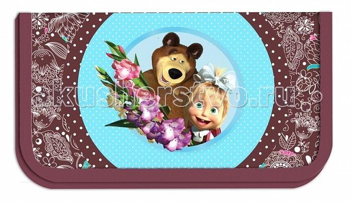 Маша и Медведь Пенал Бирюза 22103