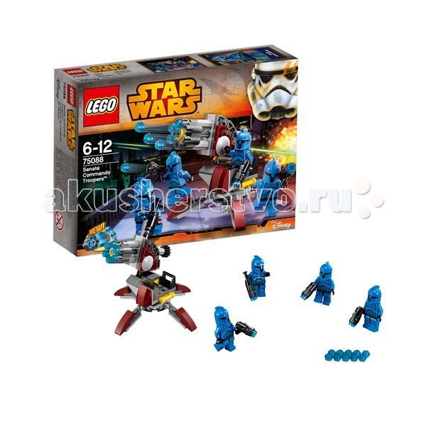Конструктор Lego Star Wars 75088 Лего Звездные войны Элитное подразделение Коммандос Сената