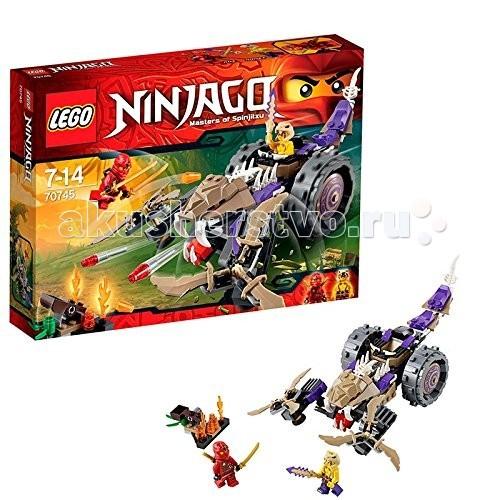 Конструктор Lego Ninjago 70745 Лего Ниндзяго Разрушитель клана Анакондрай